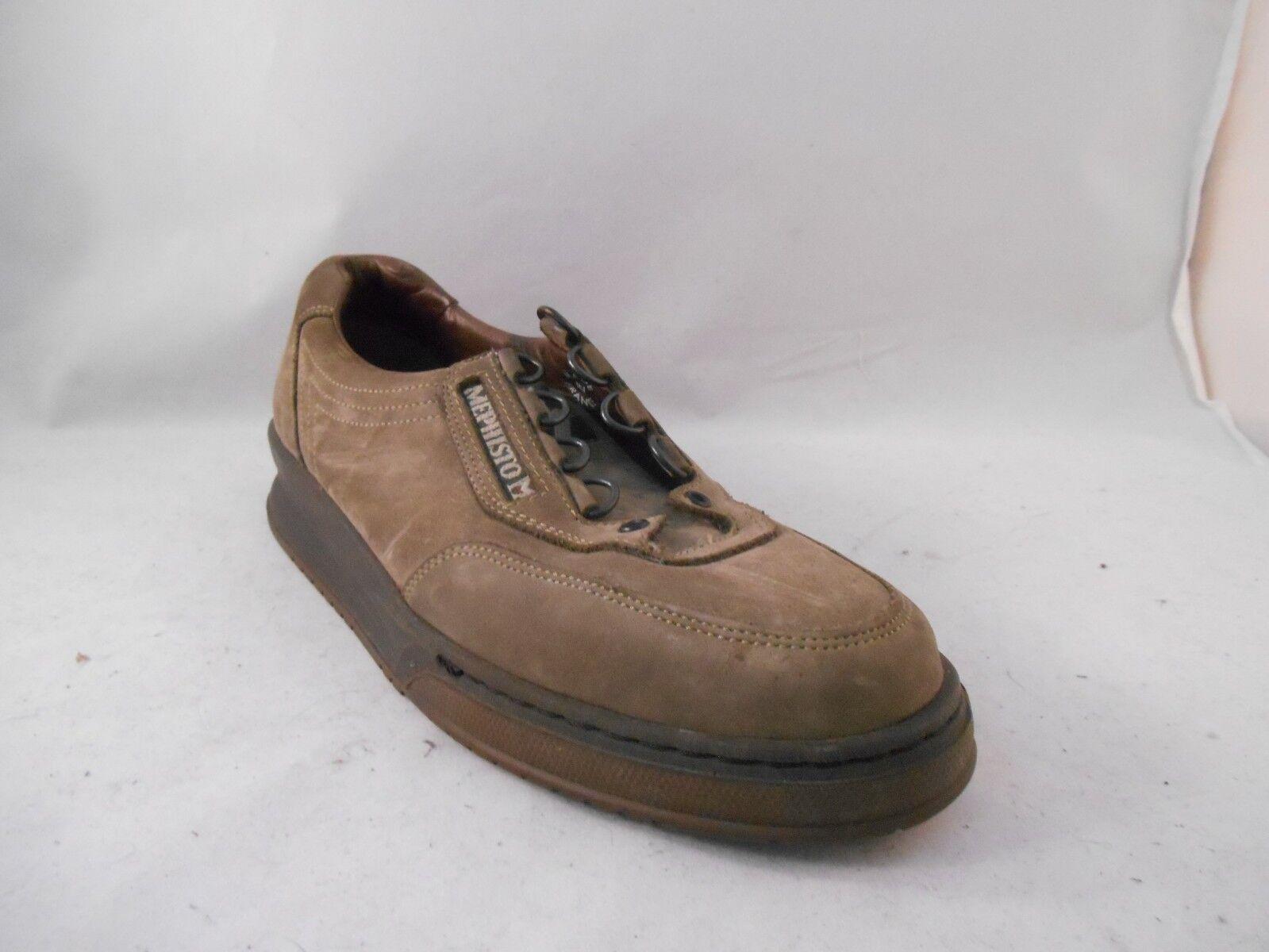 Mephisto Nubuck Marrón Taupe Casual Zapatos Con Con Con Cordones WMN Talla 8 M 5.5 UK 38 EU  más descuento