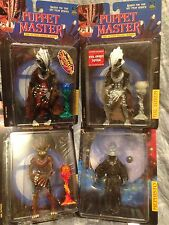 Puppet Master Action Figure Lot Of 4 TOTEM & MEPHISTO Full Moon Toys MIP '97-'98