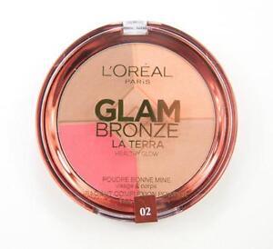 Poudre-Glam-Bronze-La-Terra-02-Medium-Speranza-L-039-Oreal