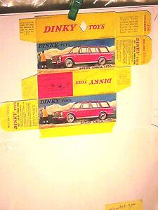 REPLIQUE-BOITE-SIMCA-1500-BREAK-DINKY-TOYS-1967