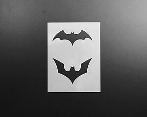 Image Is Loading Batman Stencil Airbrush Wall Art Craft Painting Superhero
