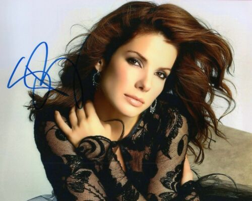 SANDRA BULLOCK AUTOGRAPHED SIGNED A4 PP POSTER PHOTO PRINT 27