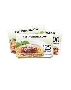2x-New-25-Gift-Card-Restaurants-In-USA-NO-Expiration-American-Chinese-Mexican