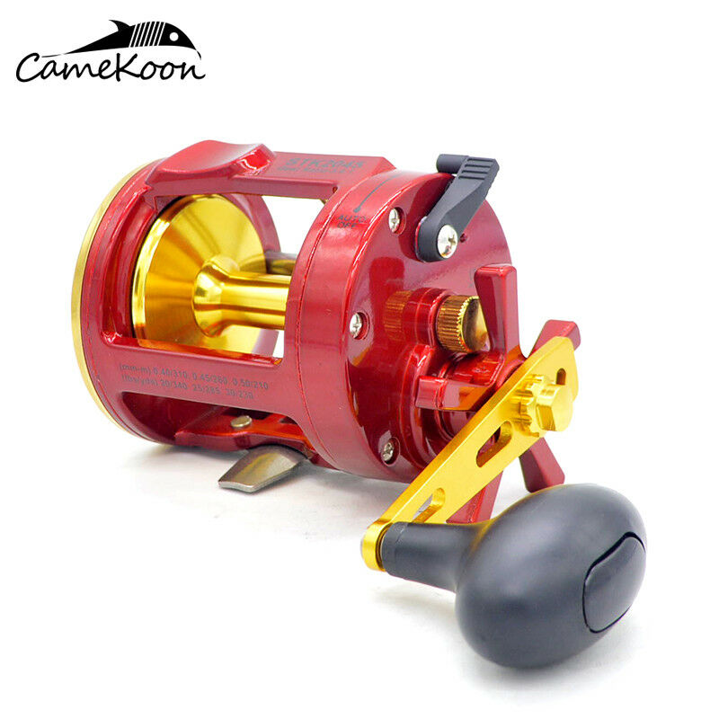 CAMEKOON Saltwater Star Drag Fishing Reel  Max Drag 26 LB Trolling Big Game Reel  with cheap price to get top brand