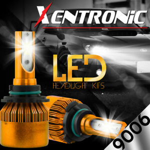 XENTRONIC LED HID Headlight Conversion kit 9006 6000K for 1993-1998 Toyota Supra