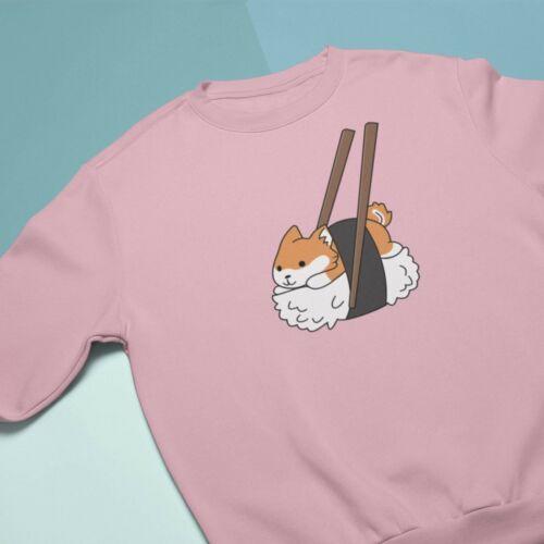 Unisex Streetwear Apparel Kawaii Clothing Brand Japanese Cute Sushi Dog Hoodie