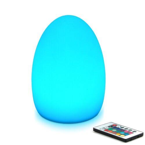 Mr.Go 8-inch LED Egg Light Nightlight Mood Lighting Lamp for Adults and Children