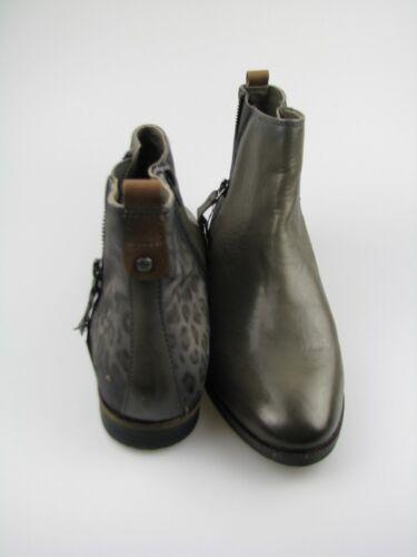 Leder Damen Boots 11g Dunkelgrau V5135 37 Gr Bugatti CqwPXAt6