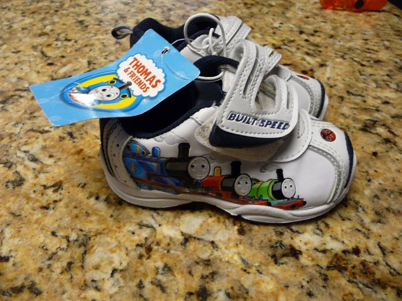 d79a112c7361 Thomas   Friends Infant Size 5 Baby Shoes Boy Girl SNEAKERS The ...