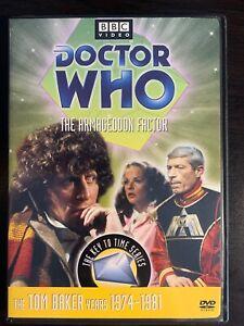 Dr-Doctor-Who-DVD-Tom-Baker-The-Armageddon-Factor-EUC-Region-1