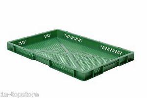 Stapelkasten Euro-Box TK600/50-2, 600x400x50mm, 5 Farben