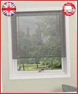 Aluminium-Twist-Venetian-Blind-110cm-x-130cm-Silver-Privacy-Window-Blinds-Debel