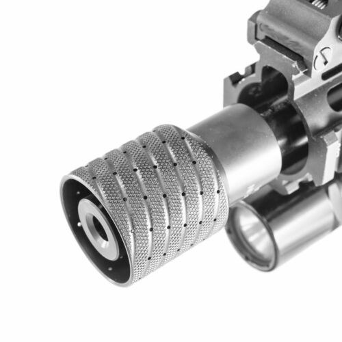 TM5-7SYS-528+LN GEN5 Mod Low Conc Linear Rifle Muzzle Brake 1//2-28 9mm LockNut