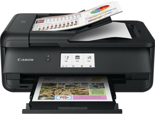 Canon PIXMA TS9550 Inkjet Multifunction Printer Print/Scan/Copy 20 Sheet ADF