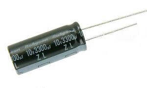 20Pcs 100Uf 25V 105C Condensateur Électrolytique Radial 6X11 Mm ce