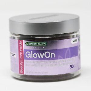 Natures-Bounty-Vitamin-Supplement-GLOW-ON-Expires-04-21-90-ct-NEW