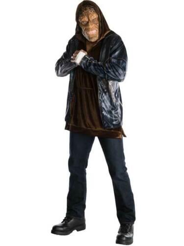 Adults DLX Killer Croc Mens Fancy Dress Halloween Villain Suicide Squad Costume