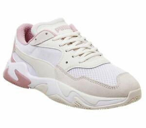 Chaussures-femme-PUMA-Storm-Baskets-Pastel-parchemin-PUMA-Blanc-Baskets-Chaussures