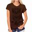 Moda-Mujeres-Mangas-Cortas-Camiseta-Camisas-Prendas-para-el-torso-Blusa-Informal-Camiseta-para-mujer miniatura 13
