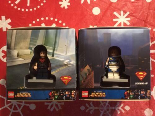 Lego Target Exclusive ensembles # 5004076 /& 5004077 DC Superboy /& LIGHTNING LAD NEUF