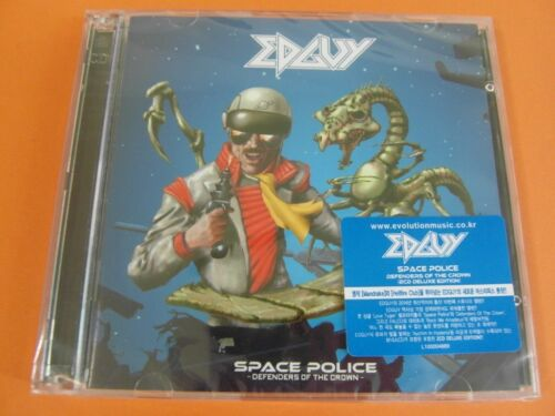 EDGUY Sealed $2.99 Ship 2 CD Space Police : Defenders Of The Crown