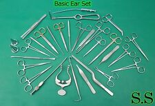 Ear Set Of 41 Instruments Surgical Ent Medical Surgery Instruments Ds 970