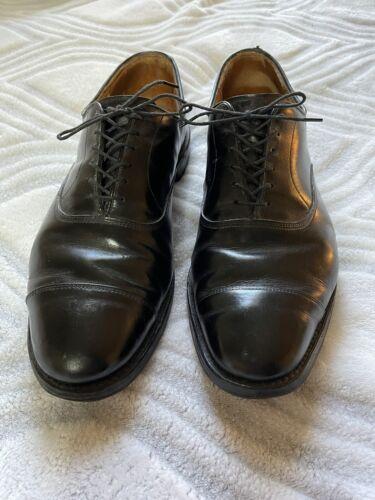 Allen Edmond Park Avenue Oxford Size 10.5 Mens Bla