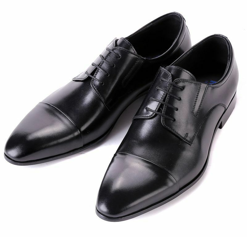 New Men's shoes Dress Formal Cow Leather Lace up Black Brown R06-10