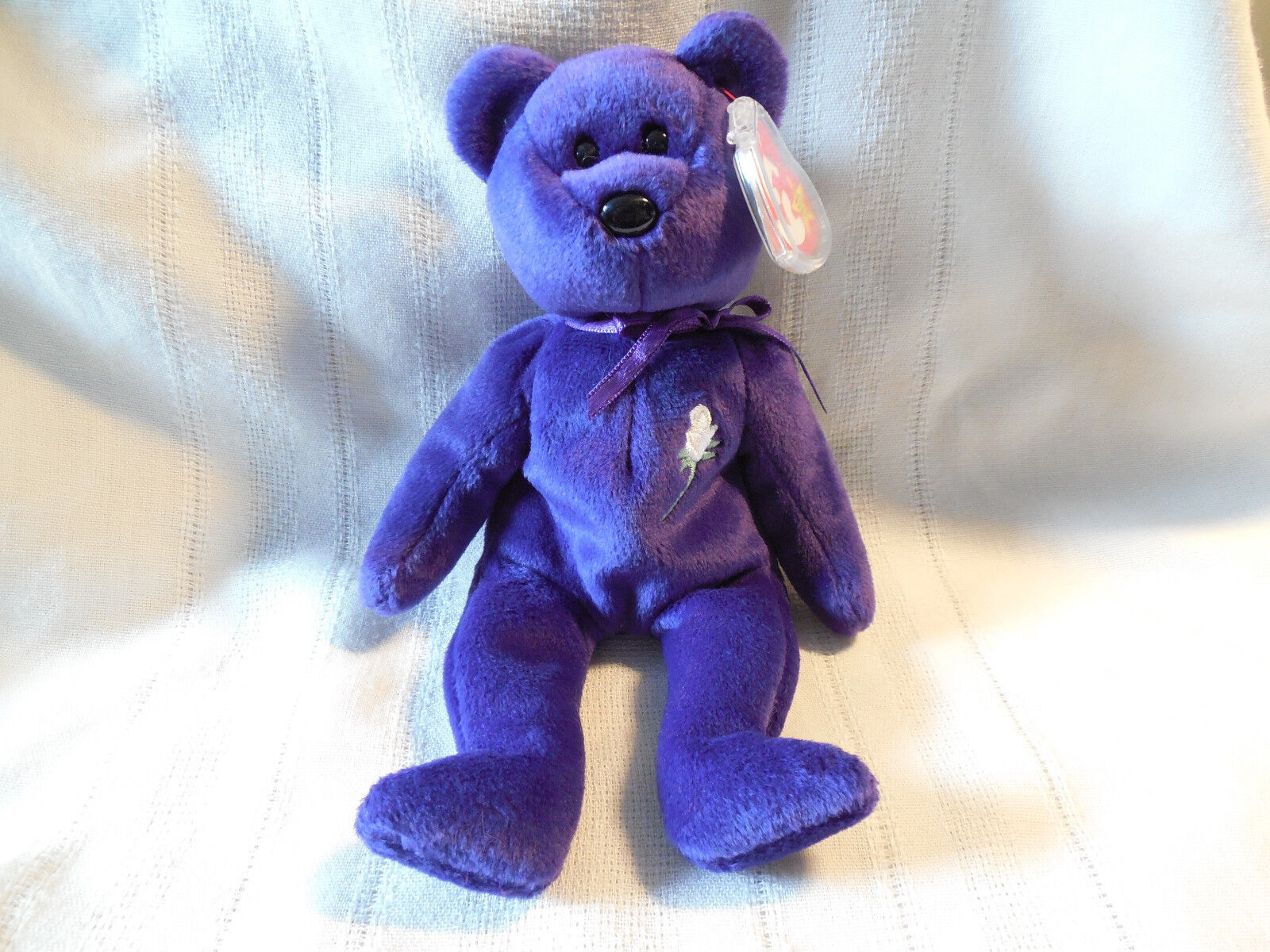 Princess Diana Beanie babies Ty p.e. pellets CE 1997 wonderful condition spaced