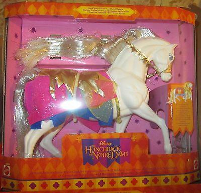 Serio Il Gobbo Di Notre Dame Cavallo Di Esmeralda Doll Disney Mattel 1995 Spese Gratis Fresco In Estate E Caldo In Inverno