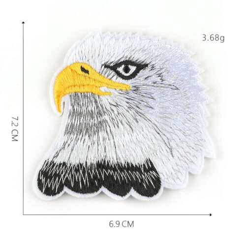 DIY Eagle Embroidered Sew Iron On Badge Patches Clothing Fabric Applique Crafts