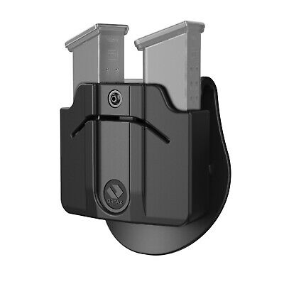 Polymer//Steel OWB Paddle Combo Orpaz Triple Magazine Pouch Magazine Holster