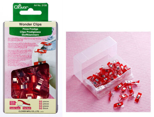 Set of 50 ~ WONDER CLIPS ~ by Clover