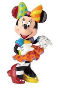 NEW Official Disney Figurine Minnie Mouse Bling Collectable Britto FREE AU POST!