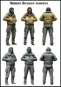 1-35-Resin-Figure-Model-Kit-Soviet-Soldiers-Modern-Tucker-WWII-Unpainted