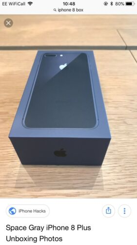 Apple iPhone 8 64GB Space Grey EMPTY BOX NO PHONE