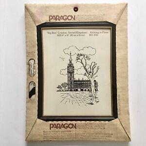Paragon-Needlecraft-London-UK-BIG-BEN-Stamped-Stitchery-Needlework-Etching-Kit