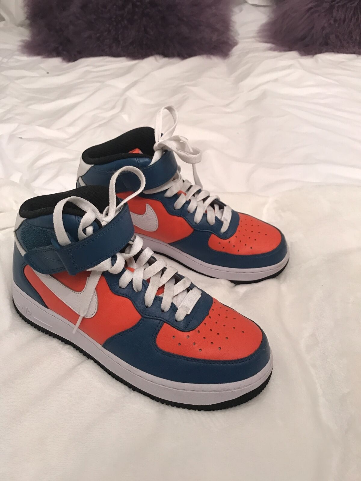 womens custom Nike high tops sneakers size 8