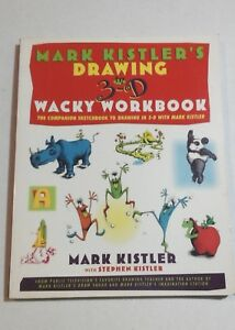 DRAWING-WORKBOOK-Mark-Kistler-Learn-To-Draw-Book-3D-Sketching-ART-LEARNING-BOOKS