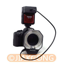 E-TTL Macro Ring FLASH for CANON 650D 600D 550D 500D 450D T2i 7D 5D Mark II G12