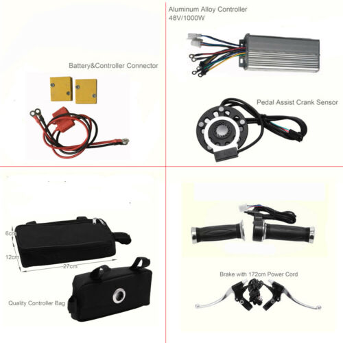 """36V LCD Vélo Electrique 26/""""Roue Arrière Brushless Moteur Hub Conversion Kit 250W"""