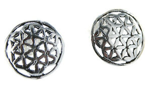 Flower of Life Studs Earrings Ear Fower Of Live 925 Silver Price for one Pair 23