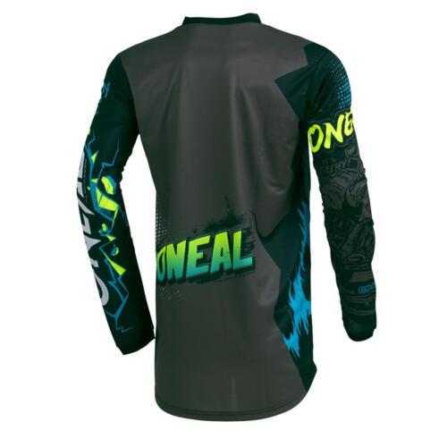 ONEAL Elemento Villain Motocross Bambini Jersey MTB MOUNTAIN BIKE MAGLIA ENDURO