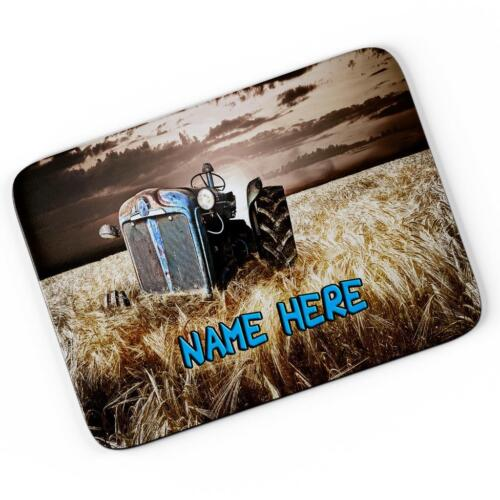 Personalised Vintage Tractor Mouse Mat Pad Computer Gaming Farming Gift SH274
