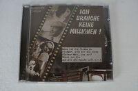 Ich brauche keine Millionen - Heinz Rühmann, Hans Albers und mehr.. CD (Box 63)