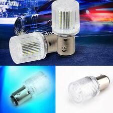 1157 Motorcycle Car Tail Stop LED 360° Bulb Lighting Brake Light Lamp 12V Blue