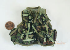 1:6 Figure US Marine Nato Woodland Camo Tactical Vest Jacket Uniform DA287