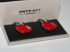 Novelty Mens Cufflinks Porsche Style Sports Car Design