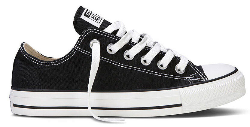 Converse Herren Damen Chucks Schuhe All Star  Ox Can black M9166c