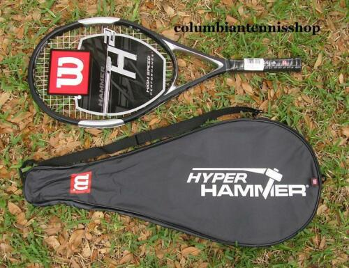 3 L3 $257 last one rare New Wilson Hyper Hammer 2 HH2 strung 115 grip 4 3//8